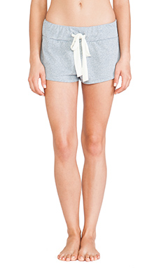 eberjey Heather Shorts in Blue Shadow