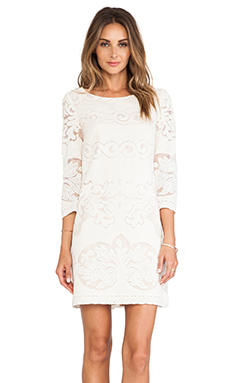 ERIN erin fetherston Jeanette Dress in Ivory