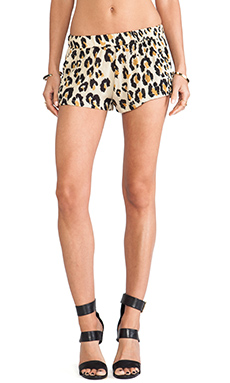 Elliott Label Flippy Short in Leopard