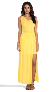 Ella Moss Stella Maxi Dress in Canary