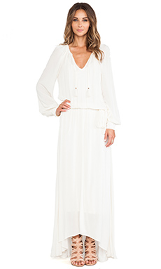 Ella Moss Stella Maxi Dress in Cream