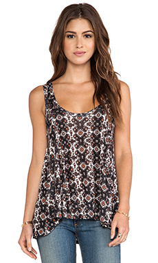 Ella Moss Joella Tank in Black