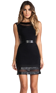 ELLIATT The Pursuit Dress in Black