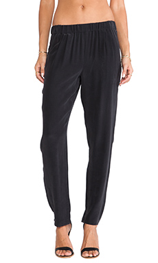 Equipment Hadley Pant in True Black