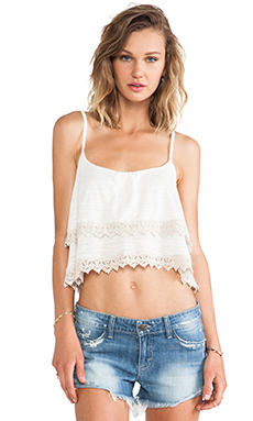 HANA SPAGHETTI CROP TOP