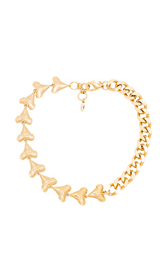 SHARK TOOTH CHAIN NECKLACE