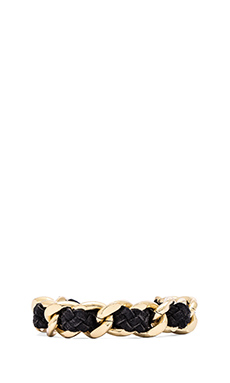 Ettika Chain Bracelet in Black