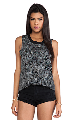 Evil Twin Sold Out Crystal Low Side Tank in Black