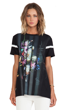 Faith Connexion Still Life Printed T-Shirt en Noir