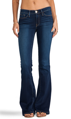 FRAME Denim Le Skinny Flare in San Vicente