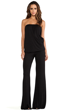 Feel the Piece Pump Jumpsuit in Black