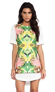 Finders Keepers Lost My Mind Dress in Lilium Print Light