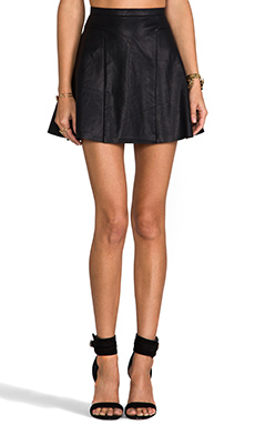 Finders Keepers Lone Ranger Skirt in Black