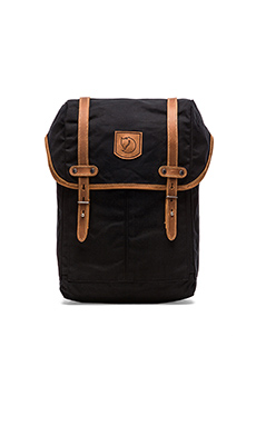 Fjallraven Rucksack No.21 Medium in Black