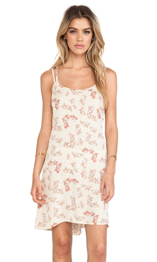 FLYNN SKYE Laura Dress in Beige Bouquet