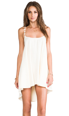 For Love & Lemons REVOLVE Exclusive Cherry Pop Dress in Ivory