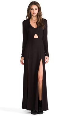 For Love & Lemons Undeniable Dress in Black