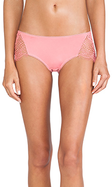 SKIVVIES by For Love & Lemons X REVOLVE Bat Your Lashes Panty in Pink Spiderweb