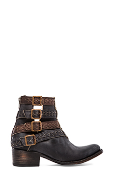 Freebird by Steven Roper Boot in Black Leather