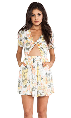 Free People Part Time Lover Dress in Lily Combo