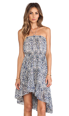 Free People Safari Sun Dress in Tea Combo