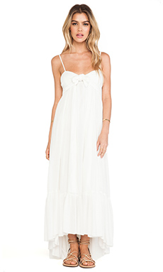 Free People Totally Tubular Dress in Ivory