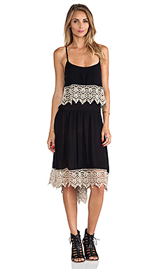 Free People Star Slip in Black