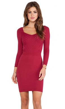 Free People Cross Over Slip in Crimson