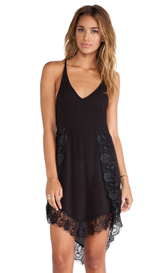 Free People Eyelash Slip in Black