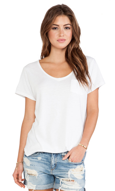 Free People Wildfire Tee in White