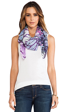 FRONT ROW SOCIETY Scarf in Crystal Haze