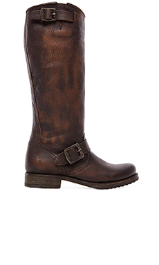 Frye Veronica Slouch in Dark Brown