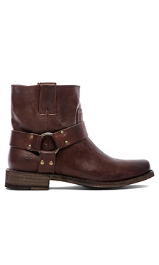 Frye Smith Harness Short Boot in Brown
