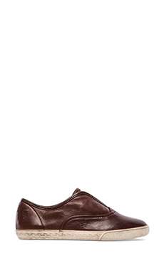 Frye Mindy Slip-On Sneaker in Dark Brown