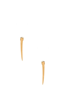 gorjana Fancy Horn Earrings in Gold
