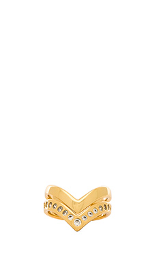 gorjana Tori Midi Ring Set in Gold