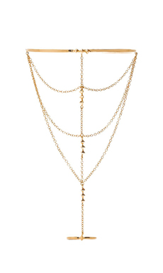 gorjana Uptown Hand Chain in Gold