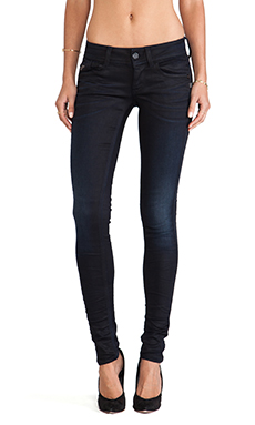 G-Star Lynn Skinny in Slander Superstretch Dark Aged