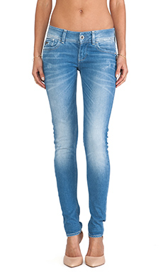 G-Star Lynn Skinny in Weldon Medium Aged