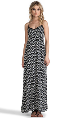 Greylin Kaufman Maxi Dress in Black
