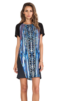 Greylin Marcel Shift Dress in Blue