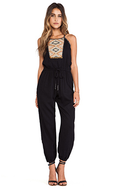 Greylin Anya Jumpsuit in Black