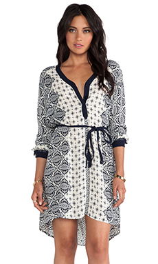 Gypsy 05 Casablanca Tunic Dress in Blue