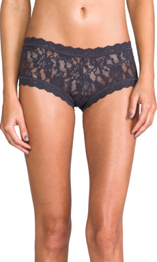 Hanky Panky Boyshort in Granite