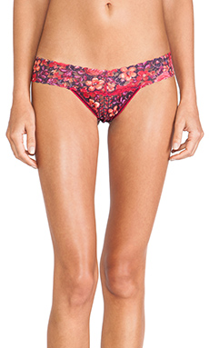 Hanky Panky Wonderfleur Low Rise Thong in Multi