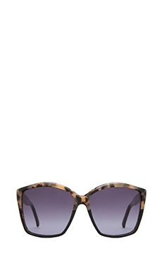 House of Harlow Jordana Sunglasses in Black Oreo