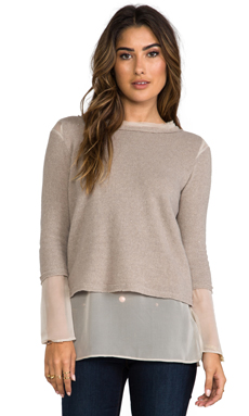 Heather Layer Top in Heather Hazel