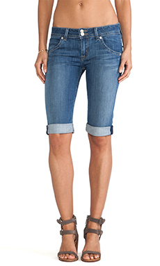 Hudson Jeans Palerme Knee Short in Tribute