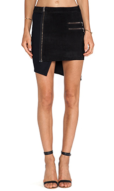 Hudson Jeans Kink Asymmetrical Skirt in Compilation