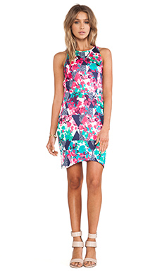 ISLA & LULU Fern Vine Dress in Kaleidoscope Print